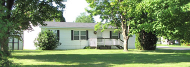 Mobile home, Blackhawk Manufactured Home Community Baraboo Wisconsin